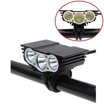 6000Lm XM-L U2 LED ไฟหน้าแบบไฟหน้าหัวท้ายรถจักรยานยนต์