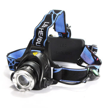 Bike Bicycle XML T6 LED Headlamp Headlight Zoomable Adjustable Head Light