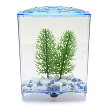 BBT2S Betta Bow Front Tank Kit Aquarium Fish Tank 4