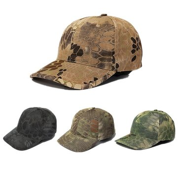 Men Cotton Camouflage Wild Hiking Tactical Baseball Cap Hat