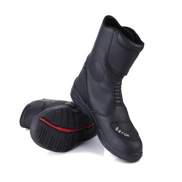 Waterproof Leather Motorcycle Racing Motocross Motor Bike Boots