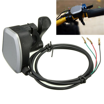 Universal 7/8inch 22mm Handlebars Thumb Throttle For Electric Bike