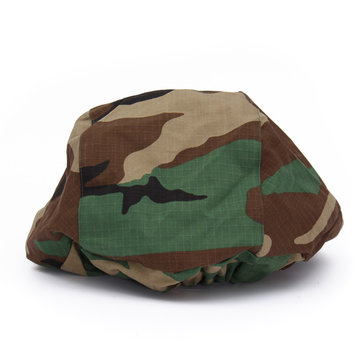 Tactical Woodland Camouflage M88 Set Pasgt Kevlar Helmet Cover