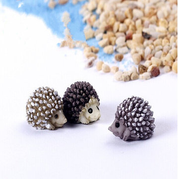 DIY Landscape Mini Hedgehog Accessories Potted Plant Garden Decor