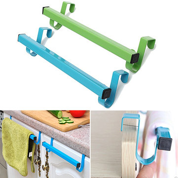24cm Space Saving Door Drawer Towel Hanger Bathroom Clothes Holder