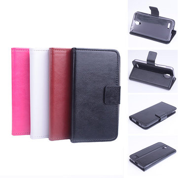 Flip Magnetic Leather Case For Alcatel One Touch Idol 2 Mini 6016D