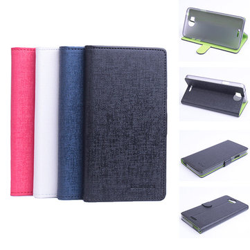Hit Color Flip PU Leather Protective Case For inFocus M530