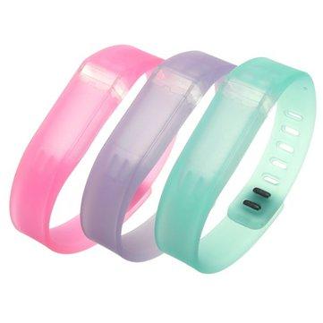reemplazo de la pulsera pulsera clara con broche de Fitbit flexione sin rastreador
