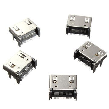 5X19 Pin High Definition Multimedia Interface Female Jack SMT SurfacE-mount Video Connector