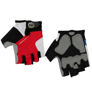 ROSWHEEL Cycling Half Finger Gloves Fiets Accessoires Multicolor