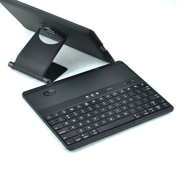 Leasun Bluetooth Keyboard Stand PU Leather Cover Case For Tablets