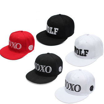 XOXO Hat Peak Cap Hip-hop Beanie Snapback Adjustable Cap