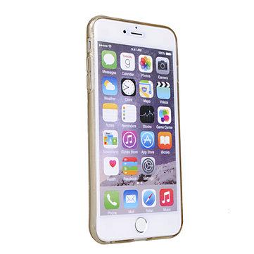 Rock Transparant Onzichtbaar Soft TPU Case Voor iPhone 6 Plus