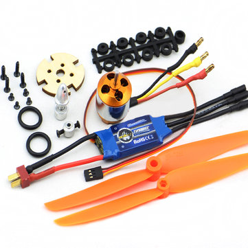 XXD 2212 Motor+ZTW Beatles AL30A Brushless ESC+Propellers Set