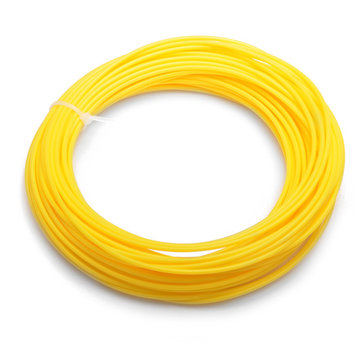 Effetool PLA 22M 1.75mm Yellow Filament for 3D Printing Pen Printer Filament