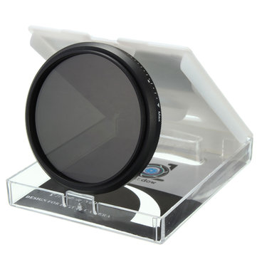 52mm-82mm Adjustable Neutral Density ND2-ND400 Lens Filter For Camera