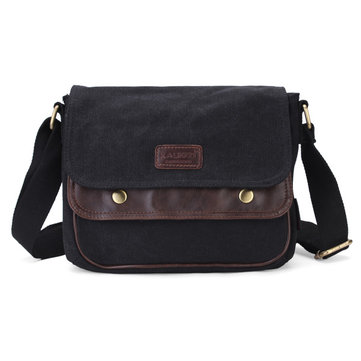 KAUKKO Retro Vintage Men Messenger Bags Casual Male Satchel Shoulder Bags