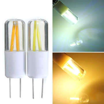 G4 1.5W COB Filament LED Spot Lightt Bulb Lamp Warm/Pure White AC/DC 12V