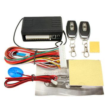 Control remoto universal del coche kit central de cerradura de la puerta de bloqueo del sistema de entrada sin llave