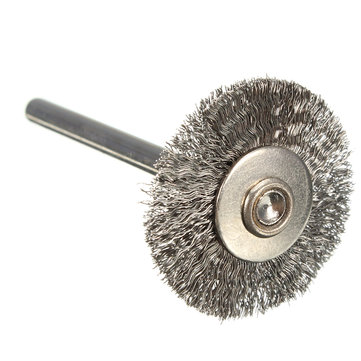 22mm Steel Wire Wheel Brush Compatible For Die Grinder Dremael Rotary Tools