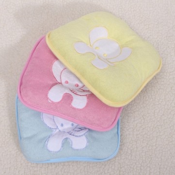 Elephant Baby Pillow Infant Head Shape Cotton Prevent Flat Pad Sleep Support