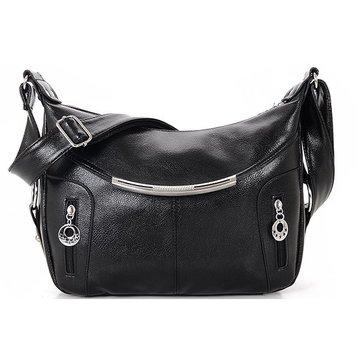 Искусственная кожа женщин леди сумок на длинном ремне сумок через плечо случайные сумки