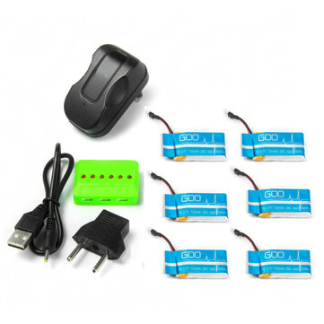 X6A 750mAh Battery With Charger For Syma X5C X5SC Cheerson CX-30S CX30S CX-30