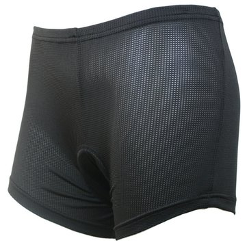 Arsuxeo Women Sports Cycling Shorts Riding Pants Underwear Shorts With Silicone Pad Black