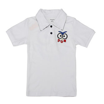 2015 New Little Maven Lovely Bird Collared Baby Children Boy Cotton Short Sleeve T-shirt T