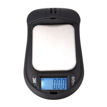 Mini-échelle numérique portable 200g x 0.01g de la souris de poche électronique de bijoux