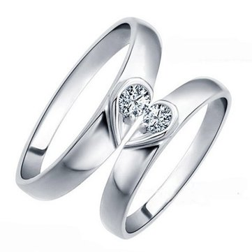 carats rings for couple women diamond gold him sets mm weddings and wedding white her