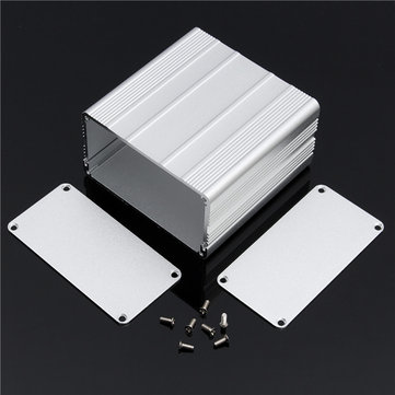 Aluminum PCB Instrument Box Enclosure Case Project Electronic DIY 100*100*50mm