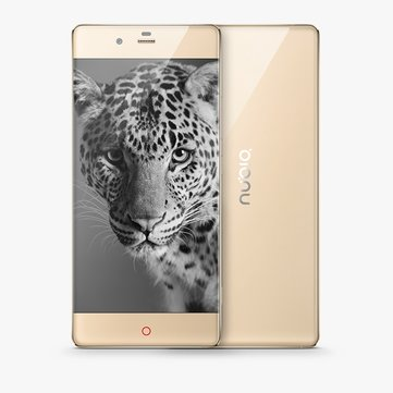 Nubia Z9 Elite Edition 5,2 pouces 4 GB de RAM 64 GB ROM Qualcomm Snapdragon 810 Octa Core 4G Smartphone