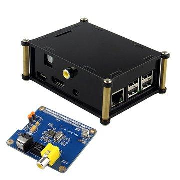 Specifica digi hifi + scheda audio digitale con custodia per Raspberry Pi 2 / a + / b +