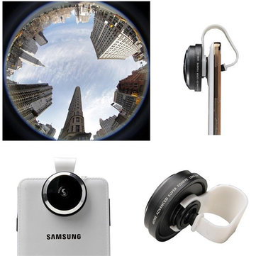 Universal 235 Detachable Clip Fisheye Lens Camera For iPhone 6 6 Plus All Phones