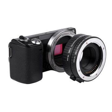 WeiHe DG-NEX Auto Focus AF Macro Extension Tube Ring 10mm 16mm Set For Sony E-mount Lens