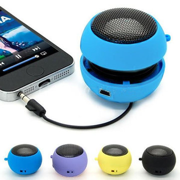 Mini Hamburger Speaker for laptop MP3 MP4