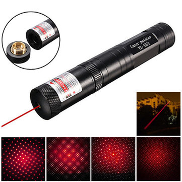 650nm 5mW Adjustable Red Light Laser Pointer +Star Cap