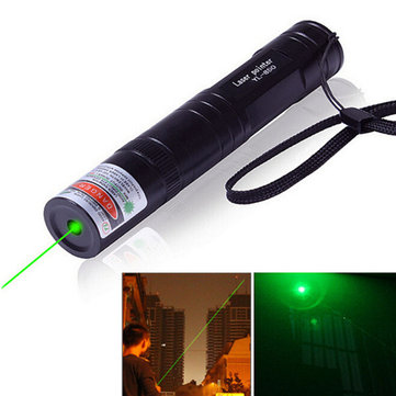5mW 532nm Green Light Visible Beam Laser Pointer