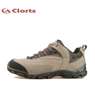 CLORTS Men Light Gray Clorts Sport Waterproof Ventilator Hiking Shoes