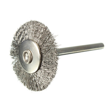 25mm Steel Wire Wheel Brush For Dremel Die Grinder Rotary Tool