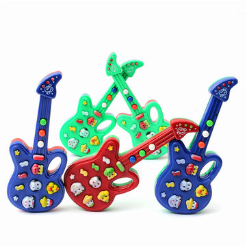 Fantastic Child Baby Kids Electronic Guitar Sound Rhyme Developmental Music Toy