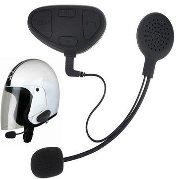 1 par Moto Auricular de intercomunicación de casco con función BHM1 Bluetooth