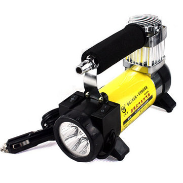 12V YD3036 Portable Auto Electric Pump Car Air Compressor Tire Inflator with Light