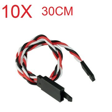 Amass 60 Core 30cm Anti-off Servo Extension Wire Cable For Futaba