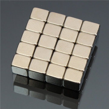 20pcs 5x5x4mm N52 Strong Block Cuboid Magnet Rare Earth Neodymium Magnet