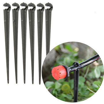 50pcs 4/7mm Micro Hose Fixed C-Type Holders Drip Irrigation Accessories