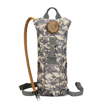 The Canvas Folding Sports Water Bladder Military Mountaineering Travel Water Bag