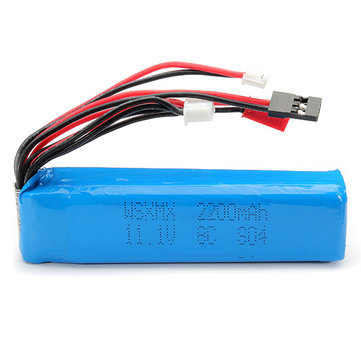 WSX-S04 Remote Controll Lipo Battery 11.1V 2200mAh For FUTABA KDS JR FS Walkera