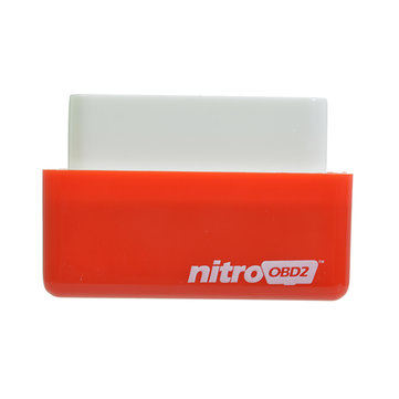 Nitro OBD2 Diesel Red Economy Chip Tuning Box Power Fuel Optimization Device